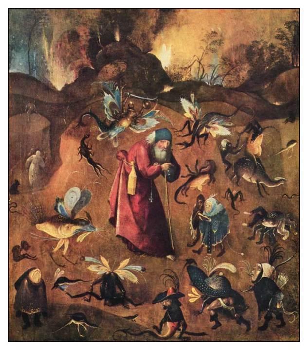Bosch/Aziz Antonius'un aranmasi